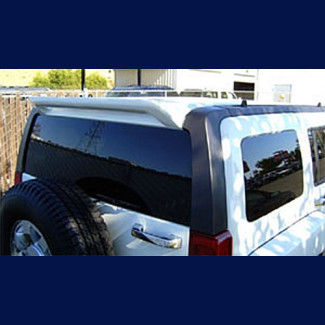 2005-2012 Hummer H3 Sport Style Rear Wing Spoiler