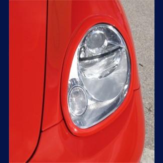 2005-2012 Porsche Boxster Euro Style Headlight Covers