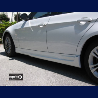 2005-2008 BMW 3-Series Sedan ACS Style Side Skirts