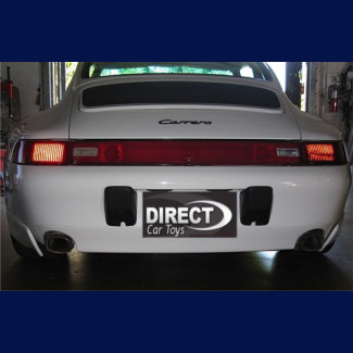 1993-1998 Porsche 911 / 993 Aero Cup Style 2pc Side Rear Bumper Skirts