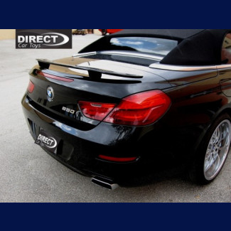 2012-2017 BMW 6-Series Cabrio Euro Style 2 Post Rear Wing Spoiler