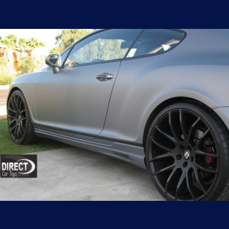 2005-2009 Bentley Continental GT Euro Style Side Skirts