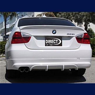 2005-2008 BMW 3-Series Sedan ACS Style Rear Bumper Skirt