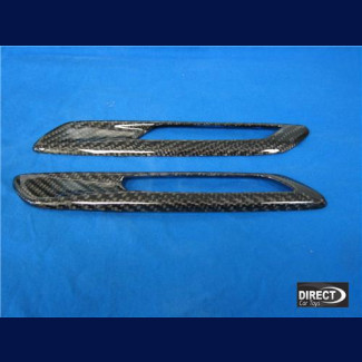 2010-2013 BMW 5-Series Carbon Fiber Side Lamp Covers