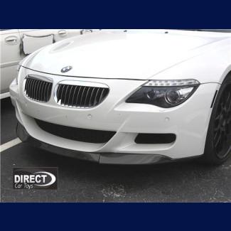 2004-2011 BMW 6-Series M6 Carbon Fiber Front Lip Spoiler