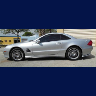 2002-2011 Mercedes SL Euro Style Side Skirts