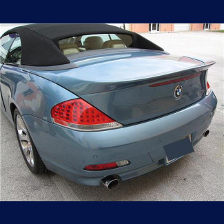 2004-2007 BMW 6-Series Cabrio ACS Style Rear Lip Spoiler