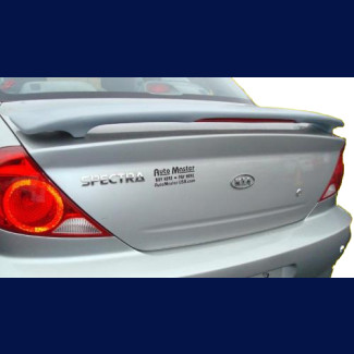2002-2004 KIA Spectra Sedan Tuner Style Rear Wing Spoiler w/Light