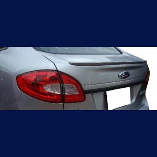 2011-2013 Ford Fiesta Sedan Factory Style Rear Lip Spoiler
