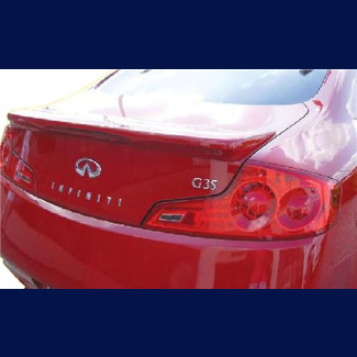 2006-2007 Infiniti G35 Coupe Factory Style Rear Wing Spoiler w/Light
