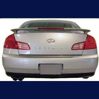 2003-2006 Infiniti G35 Sedan Factory Style Rear Wing Spoiler w/Light