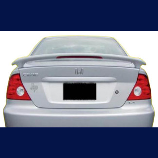 2001-2005 Honda Civic Coupe Tuner Style Rear Wing Spoiler w/Light