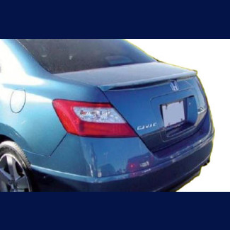 2006-2011 Honda Civic Coupe Factory Style Rear Lip Spoiler