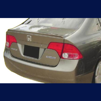 2006-2011 Honda Civic Sedan Factory Style Rear Lip Spoiler