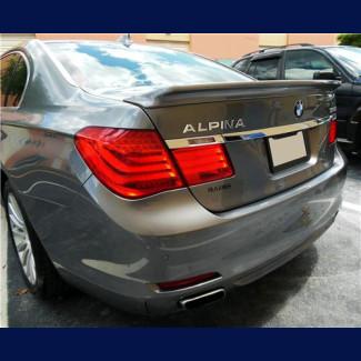 2009-2015 BMW 7-Series Alpina Style Rear Lip Spoiler