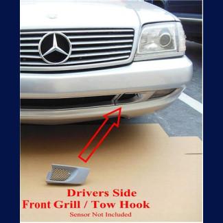 1997-2002 Mercedes SL AMG R129 Driver Front Bumper Grill / Tow Hook