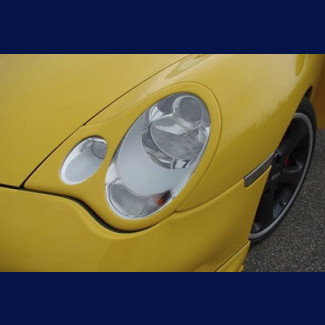 2002-2004 Porsche 911 / 996 TA Style Headlight Covers