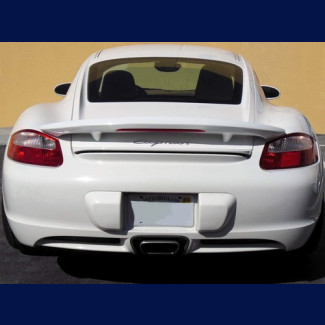 2005-2012 Porsche Cayman Aero Style Rear Wing Spoiler w/Brake Light