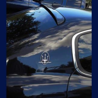 2004-2012 Maserati Quattroporte Euro Style Rear Roof Glass Spoiler