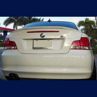2007+ BMW 1 Series Euro Style Rear Trunk Lip  Spoiler