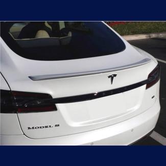 2012-2016 Tesla S Factory Style Rear Lip Spoiler