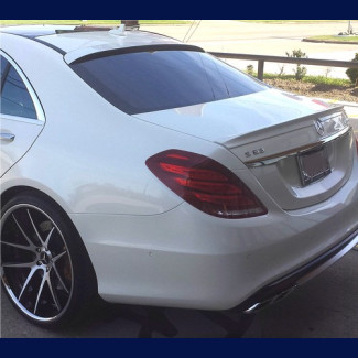 2013-2017 Mercedes S-Class Euro Style Rear Roof Spoiler