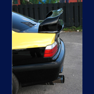 1992-1998 BMW 3-Series Coupe LTW Race Style 2pc Rear Wing Spoiler