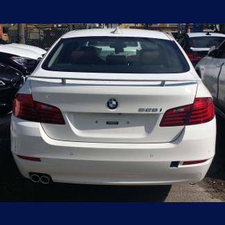 2010-2016 BMW 5-Series Sedan Euro Style 2 Post Rear Wing Spoiler