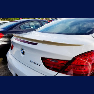 2012-2017 BMW 6 Series Coupe V Style Rear Lip Spoiler