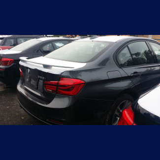 2012-2017 BMW 3 Series Sedan Euro Style 2 Post Rear Wing Spoiler