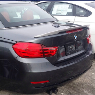 2015-2018 BMW 4 Series Convertible Performance Rear Lip Spoiler