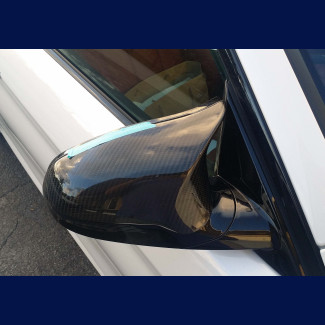 2014-2017 BMW 4-Series (F82) M4 Real Carbon Fiber Mirror Cover Caps