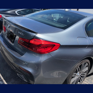 2010-2016 BMW 5-Series M5 Style Rear Lip Spoiler