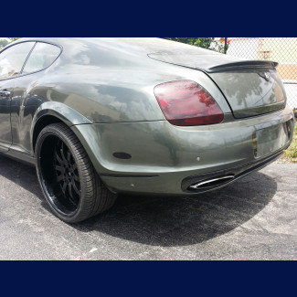 2005-2011 Bentley Continental GT SS Style Rear Bumper Cover w/Flares