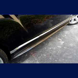 2016-2017 Bentley Continental GT Speed Plus Style Side Skirts