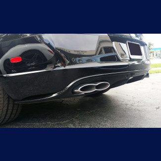 2012-2015 Bentley Continental GTC Factory Style Rear Bumper Skirt