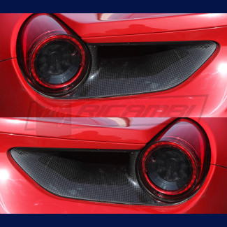 2016-2017 Ferrari 488 GTB / Spider Rear Light Satellites (Carbon Fiber)