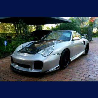 2002-2004  Porsche 911 / 996 Turbo GTR Front Bumper w/Intake Grille