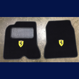 2014-2016 Ferrari California T Custom German Velour Floor Mats (Set)