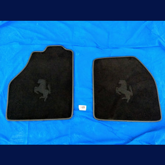 2015-2019 Ferrari 488 Custom German Velour Floor Mats (2pc Set)