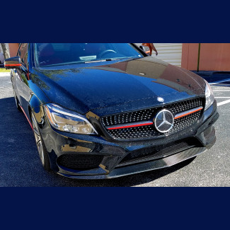 2015-2017 Mercedes Benz CLS Tuner Center Front Lip Spoiler