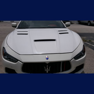 2014-2018 Maserati Ghibli Trofeo Style Vented Front Hood