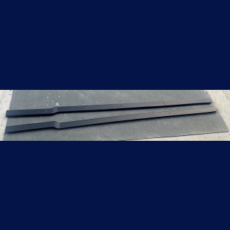 2014-2017 Maserati Ghibli W-Style Side Skirt Rocker Set