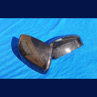 2007-2017 Maserati GranTurismo Real Carbon Fiber Mirror Cover Caps