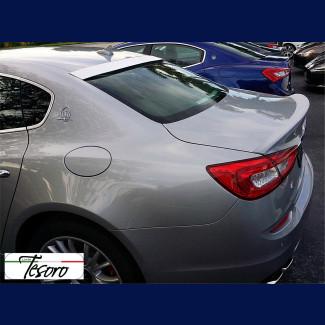 2013-2017 Maserati Quattroporte Euro Style Rear Roof Glass Spoiler