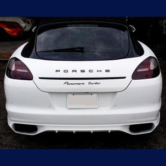 2010-2013 Porsche Panamera Euro Style Rear Bumper Skirt