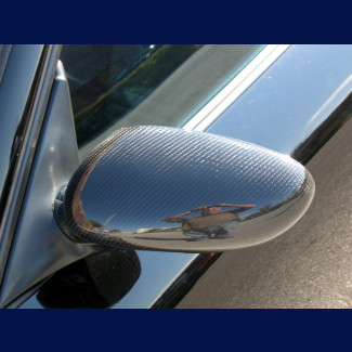 1997-2004 Porsche Boxster Carbon Fiber Mirror Covers