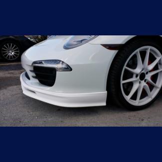 2012-2015 Porsche Carrera 911 / 991 Tesoro Style Front Bumper Lip Spoiler