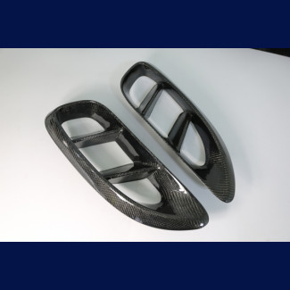 2017-2018 Porsche Boxster Compworks Side Air Scoop Vents (Carbon Fiber)