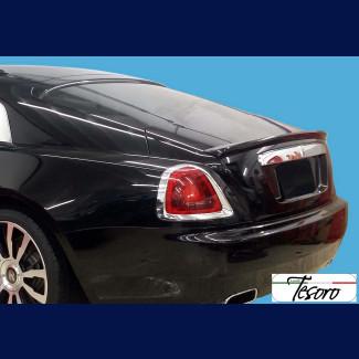 2013-2017 Rolls Royce Wraith Tesoro Style Rear Trunk Lip Spoiler